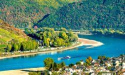 שייט על נהר הריין